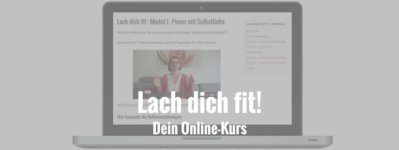 Lach dich fit! Dein Onlinekurs mit Kathrin Stamm